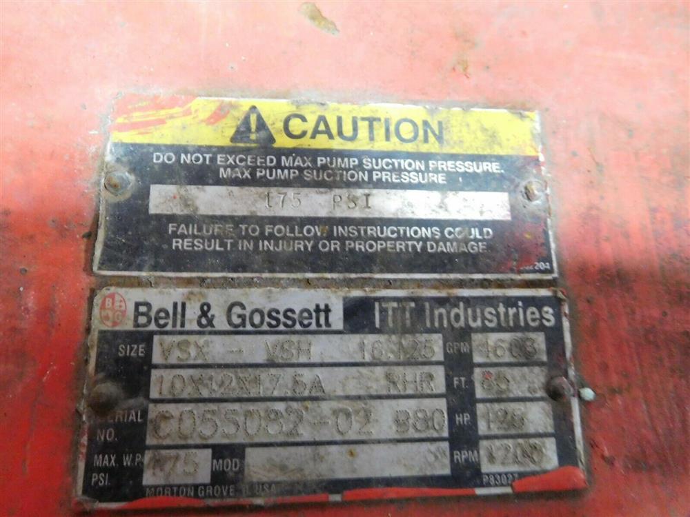 Image BELL GOSSETT VSX VSH 16.125 Pump 1532136