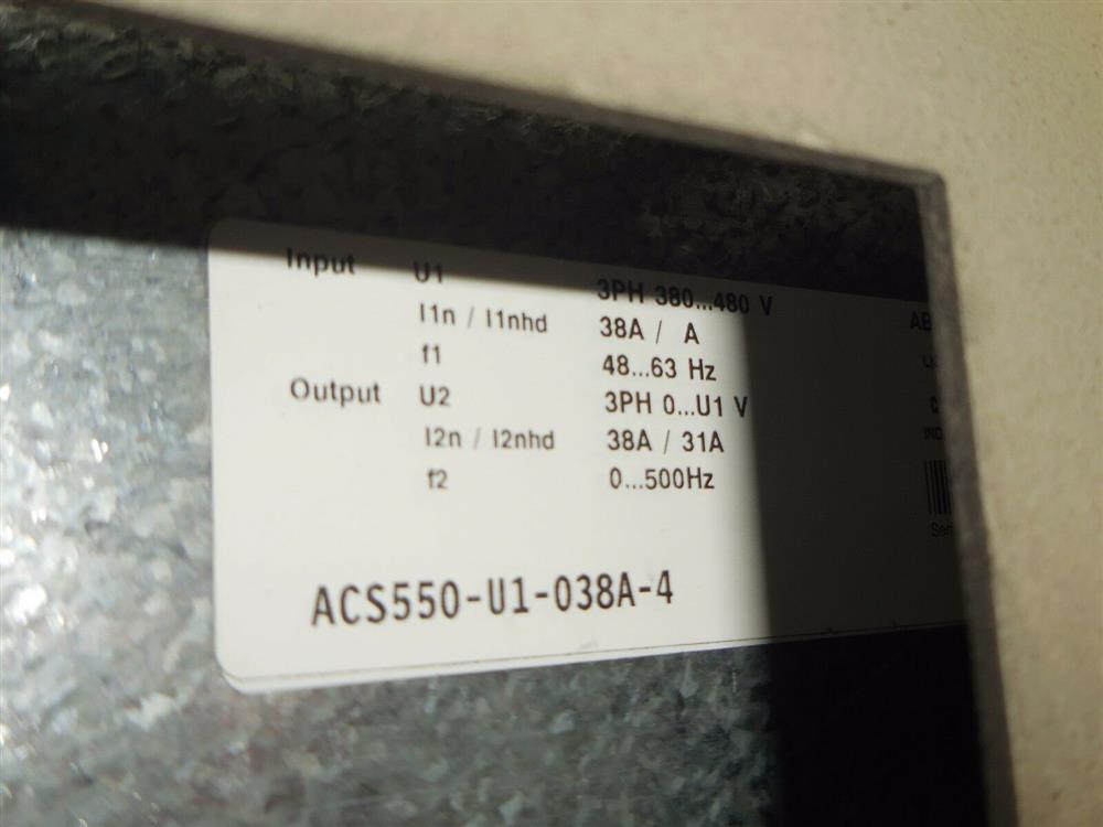 Image RELIANCE ELECTRIC 24C4020U AC Drive 1542053