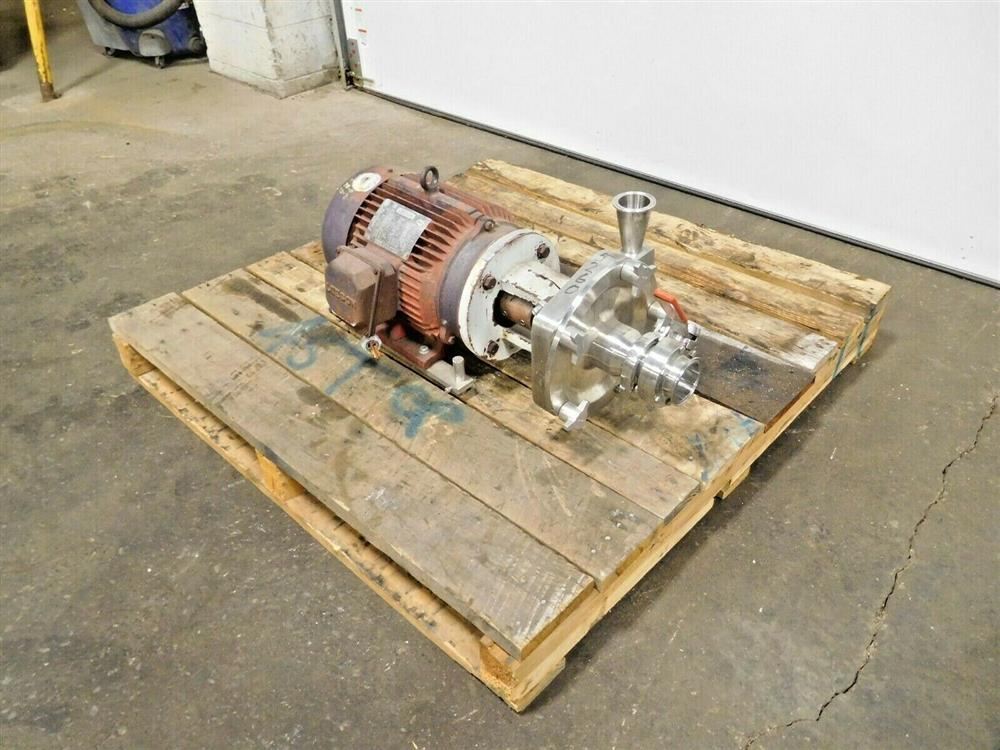 Image FRISTAM FPX732-150 Centrifugal Pump with 7.5 HP Motor 1545742