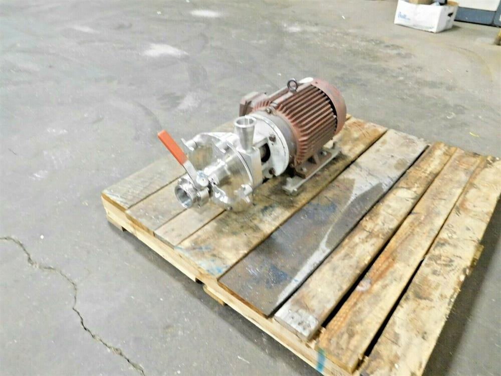Image FRISTAM FPX732-150 Centrifugal Pump with 7.5 HP Motor 1545743