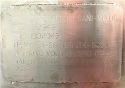 Image 250 Gallon SANIMATIC Sanitary Vessel 1556267