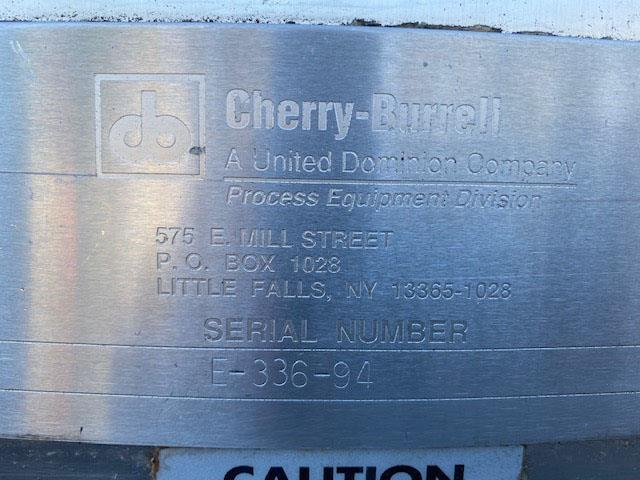 Image 1200 Gallon CHERRY BURRELL Holding Tank - Stainless Steel 1569912