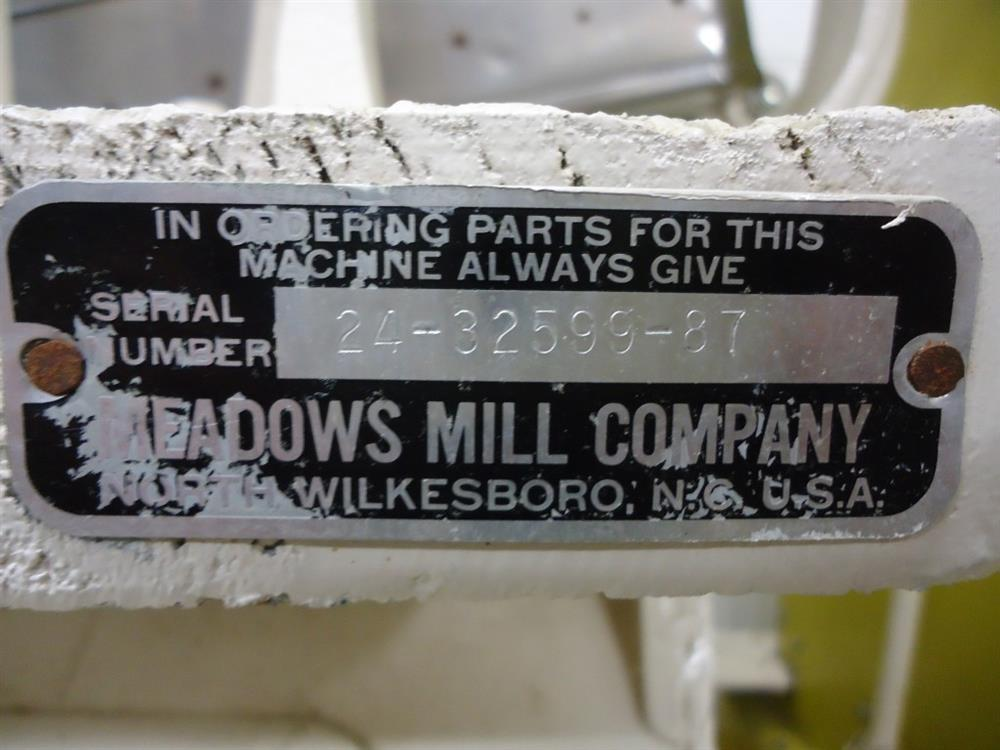 Image MEADOWS MILL COMPANY Stone Burr Mill with Essentric Sifter 1573747