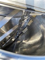 Image 300 Gallon HAMILTON SA Direct Steam Kettle with Dual Agitation and Scrape Surface 1575312