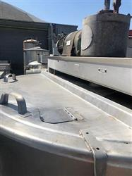 Image 300 Gallon HAMILTON SA Direct Steam Kettle with Dual Agitation and Scrape Surface 1575318