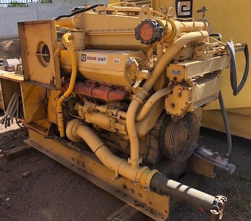 Image 350kW CATERPILLAR D346 Skid Mounted Diesel Generator 1575740