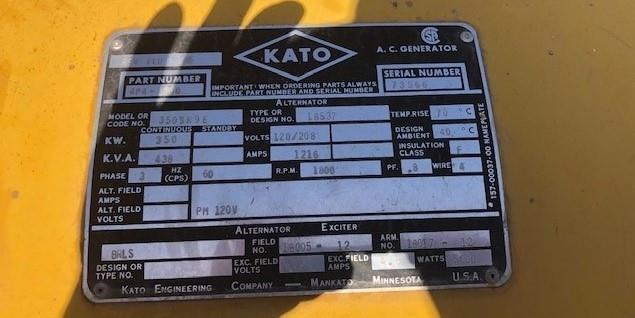 Image 350kW KATO Generator End 1575742