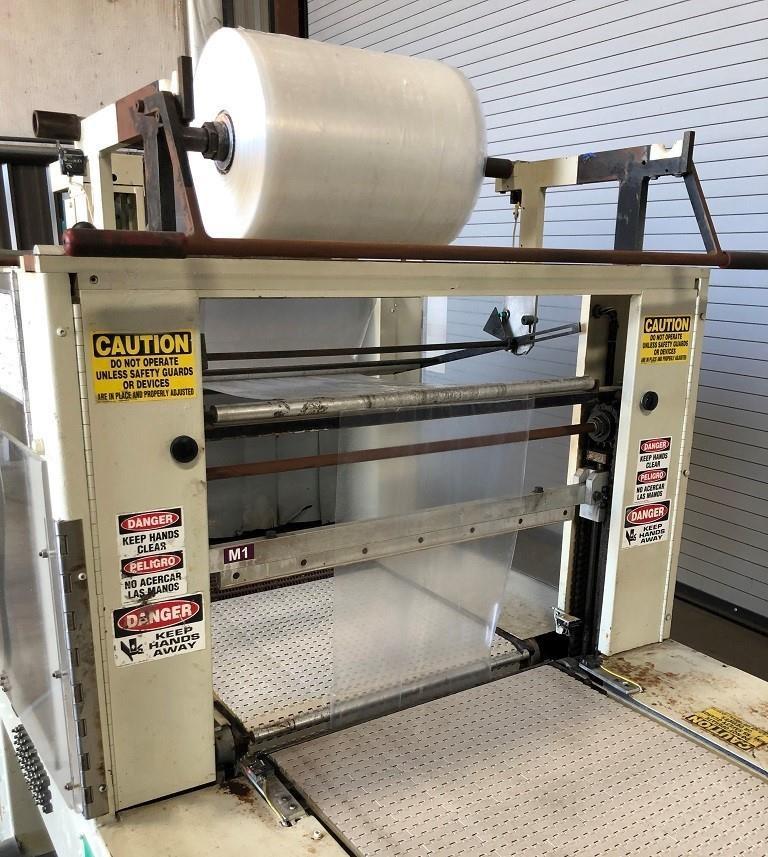 Image ARPAC 112-28 Tray Shrink Bundler Wrapper 1575840