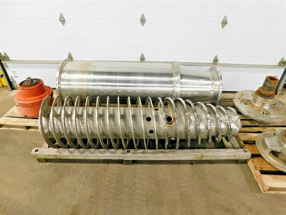 Image BIRD Centrifuge Bowl, Conveyor, Ends Gear and Extra Parts 1575900