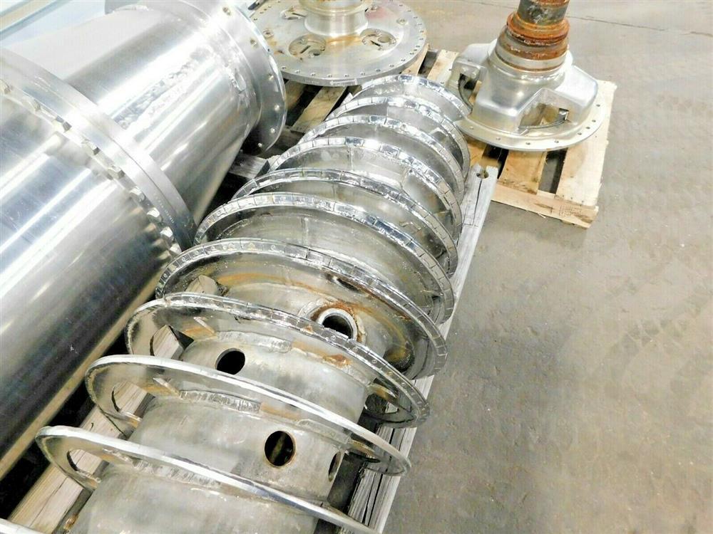 Image BIRD Centrifuge Bowl, Conveyor, Ends Gear and Extra Parts 1575903