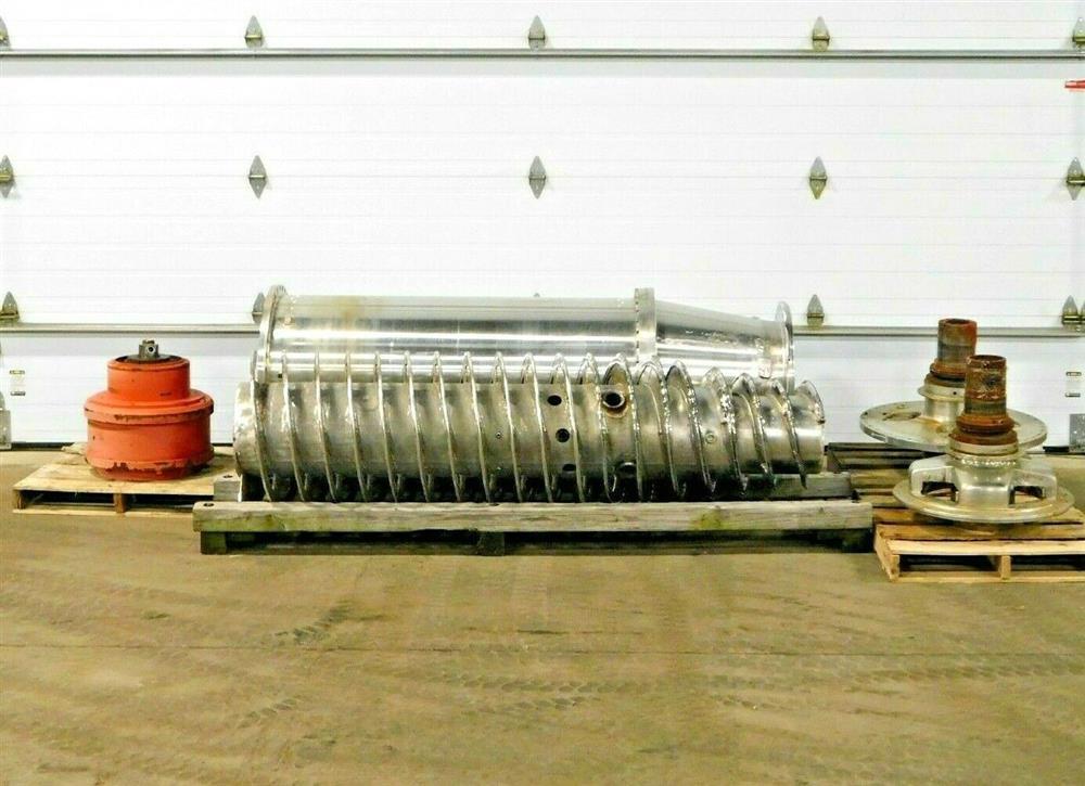Image BIRD Centrifuge Bowl, Conveyor, Ends Gear and Extra Parts 1575904