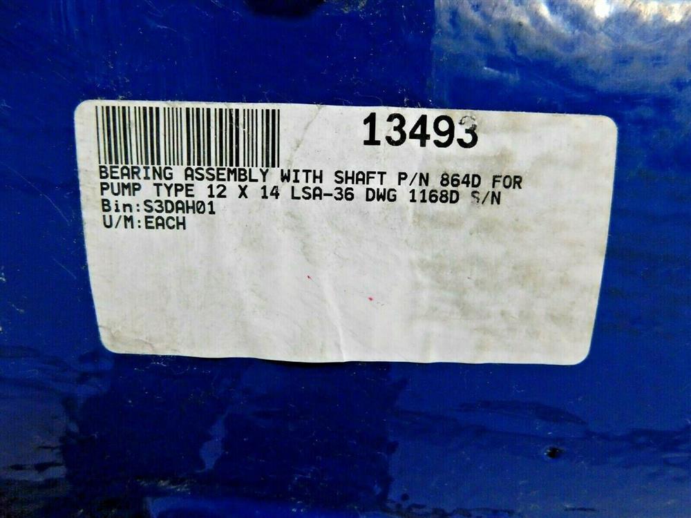 Image GIW KSB 864D Pump Shaft / Bearing Assembly 1575919