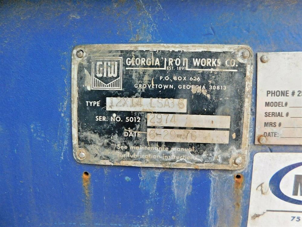 Image GIW 12x14 LSA 36 Severe Slurry Dredge Pump 1575986
