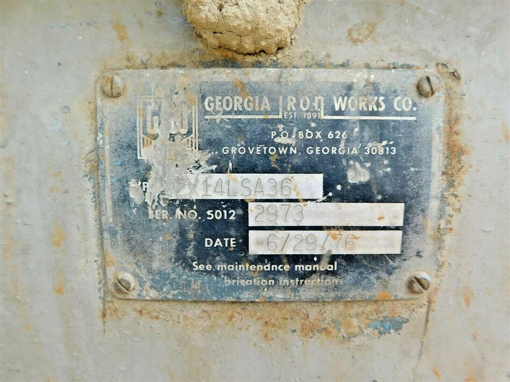 Image GIW 12x14 LSA 36 Severe Slurry Dredge Pump 1575998