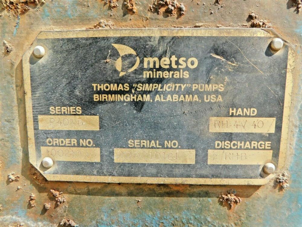 Image THOMAS SIMPLICITY P40ND Direct Drive Dredge Pump 1576020