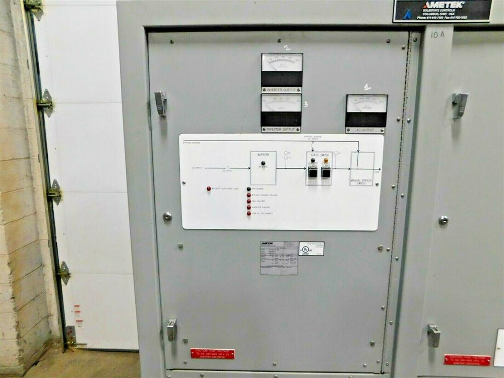 Image 40kVA AMETEK Power Inverter 1576042