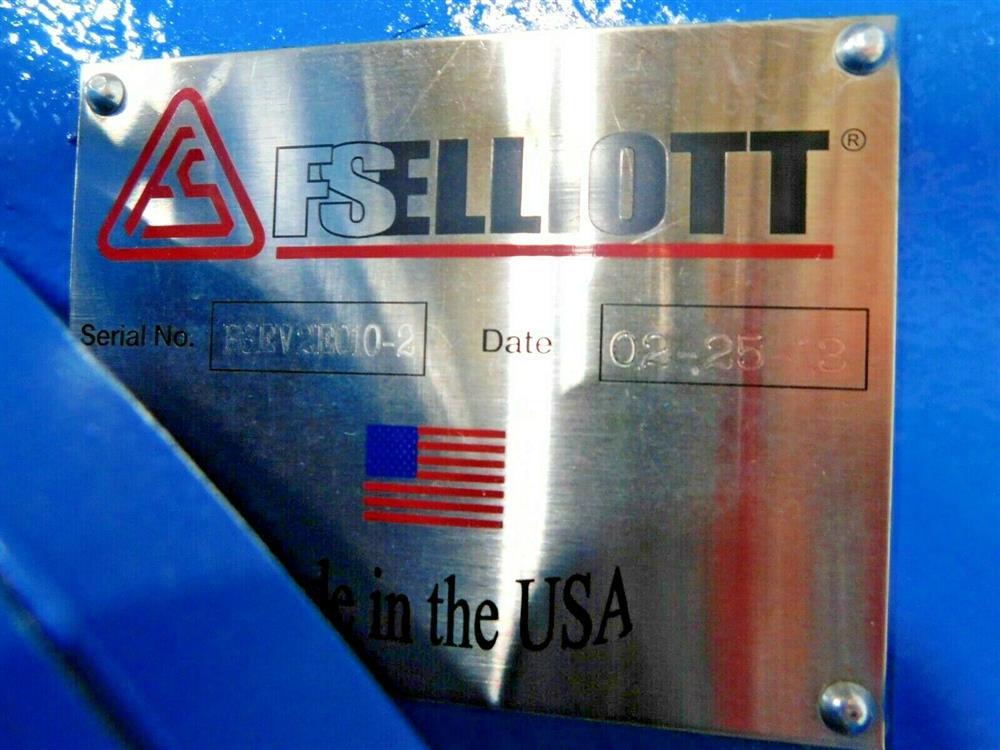 Image 600 HP FS ELLIOTT POLARIS P500-600 Compressor 1576066