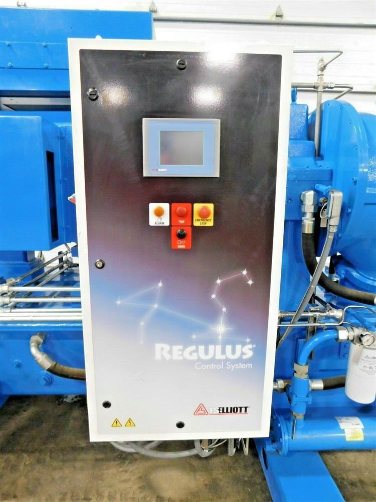 Image 600 HP FS ELLIOTT POLARIS P500-600 Compressor 1576076