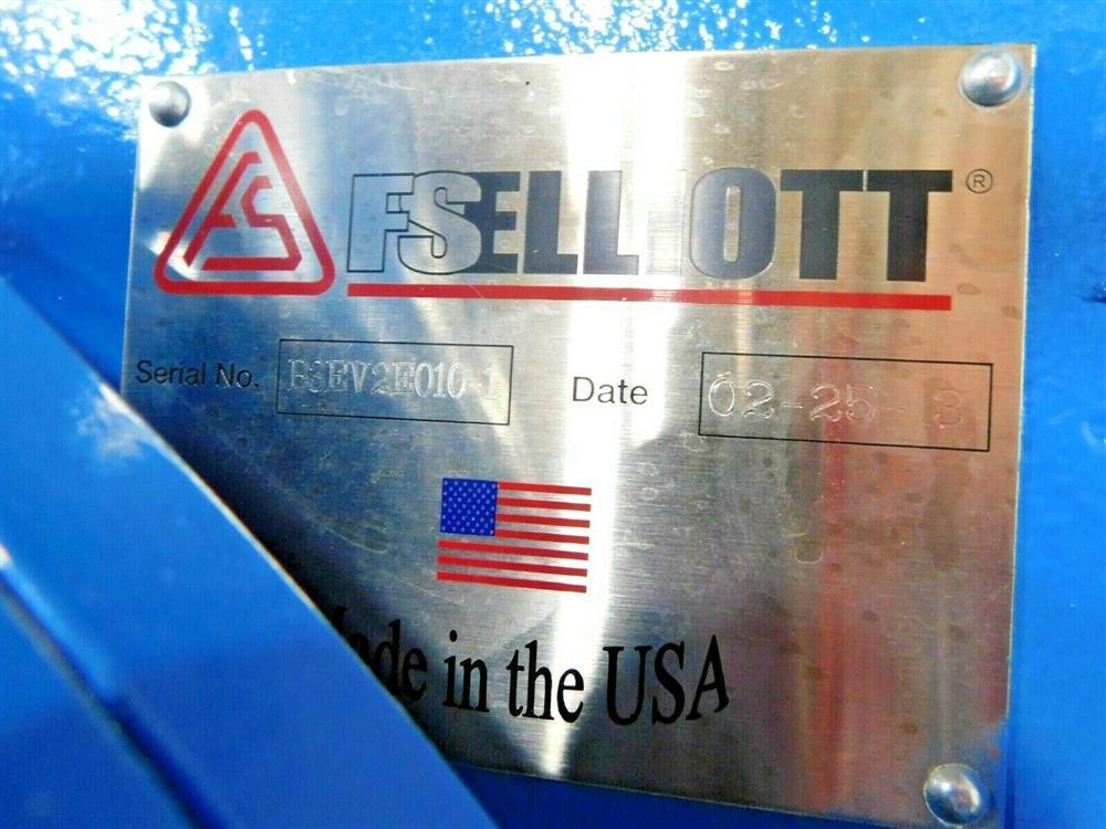 Image 600 HP FS ELLIOTT POLARIS P500-600 Compressor 1576078