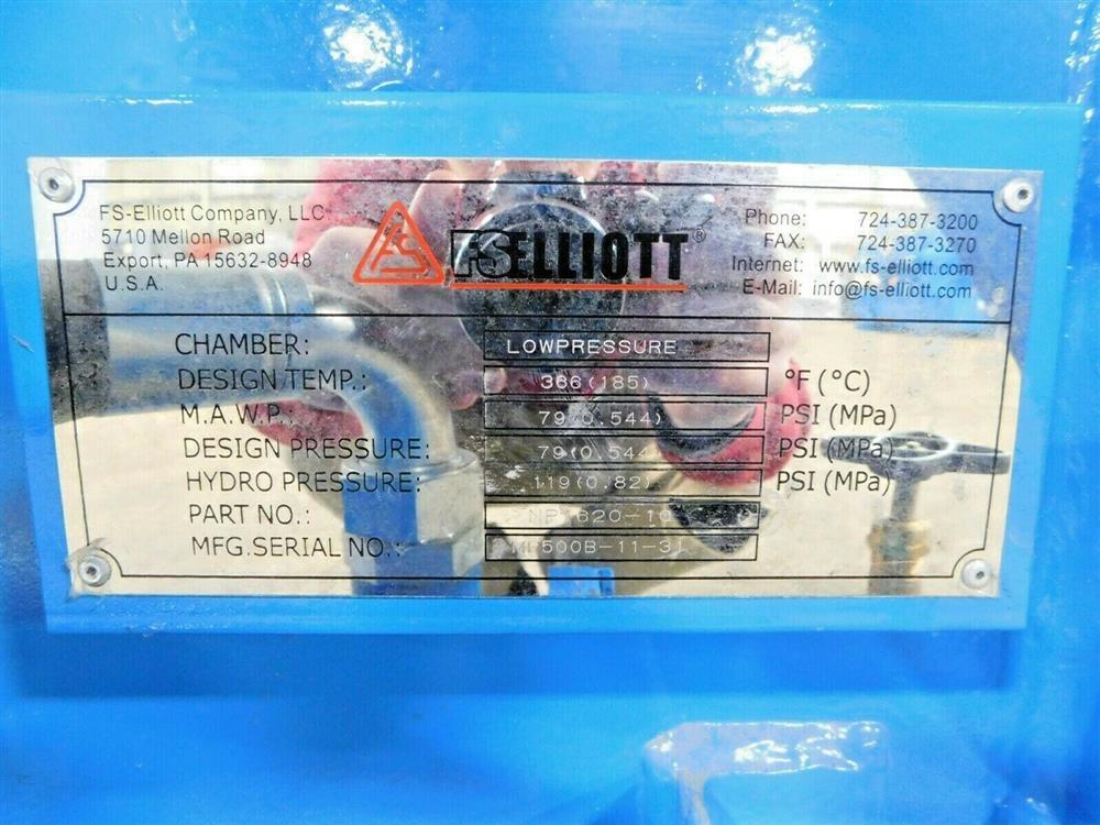 Image 600 HP FS ELLIOTT POLARIS P500-600 Compressor 1576081