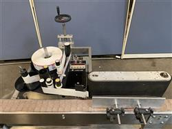 Image LABEL-AIRE Automatic Wrap Around Labeler Bottle Labeling Machine with Stainless Steel Conveyor Belt 1579122