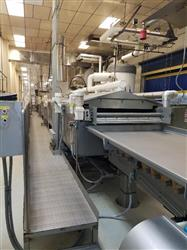 Image HEAT & CONTROL Continuous Gas Fired Fryer - 50in W X 45ft L 1586249
