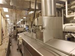 Image HEAT & CONTROL Continuous Gas Fired Fryer - 50in W X 45ft L 1586251