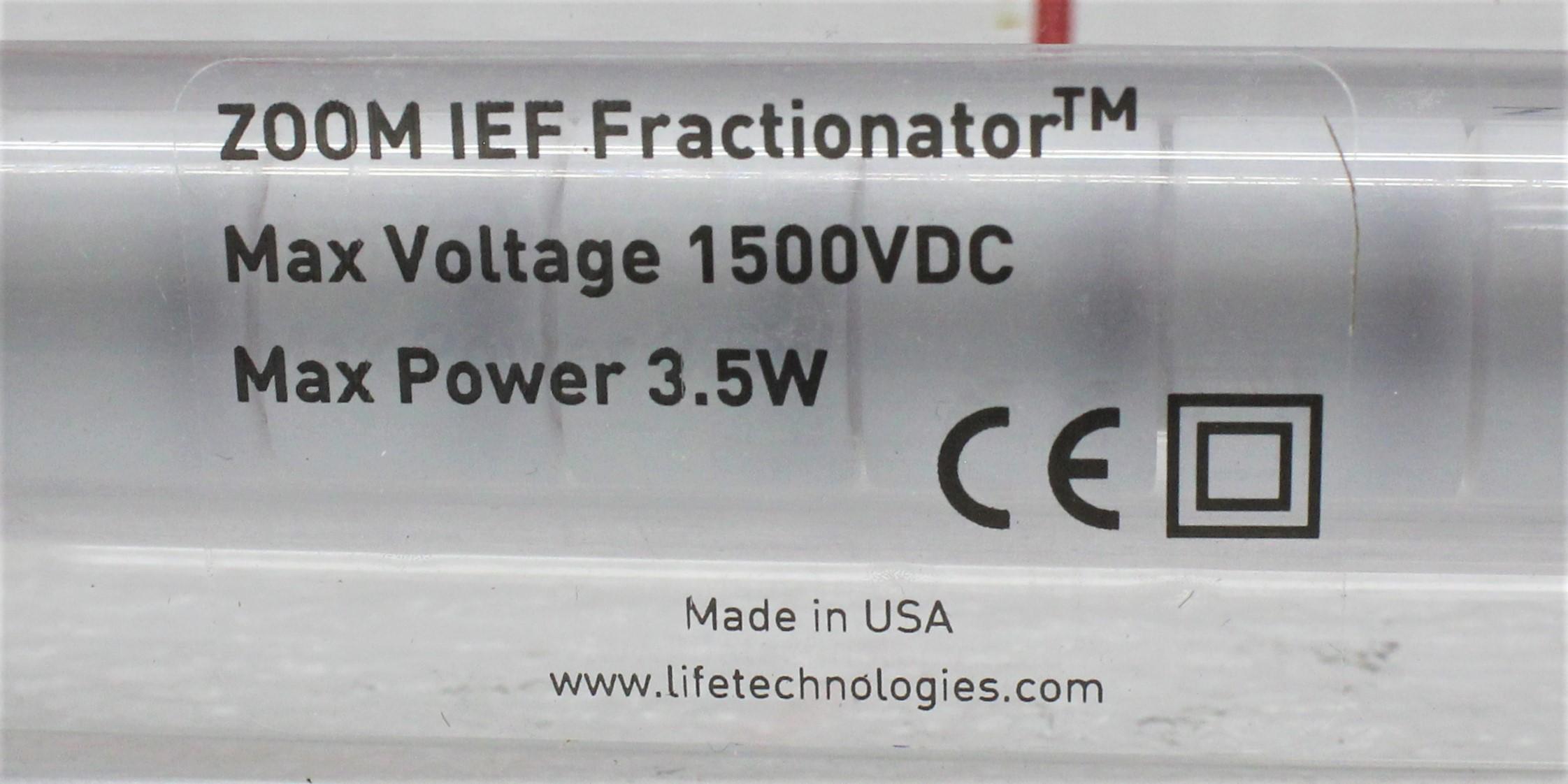Image INVITROGEN ZF10002 ZOOM IEF Fractionator 1586893