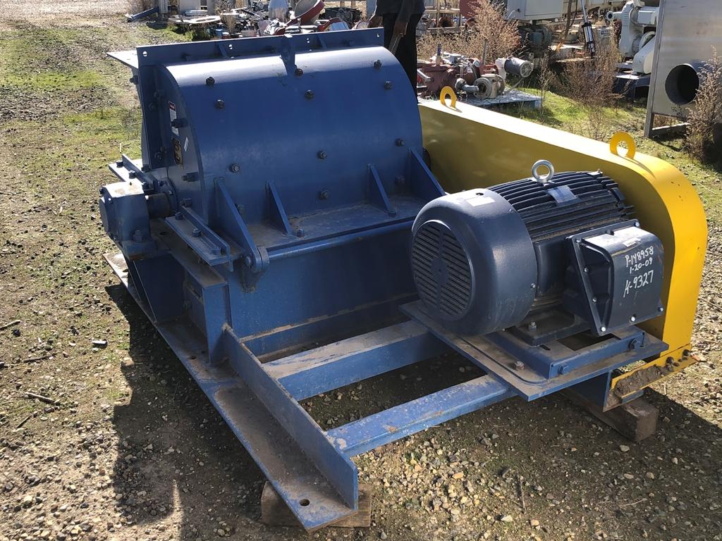 Image 75 HP AMERICAN PULVERIZER Hammermill - Carbon Steel 1586920