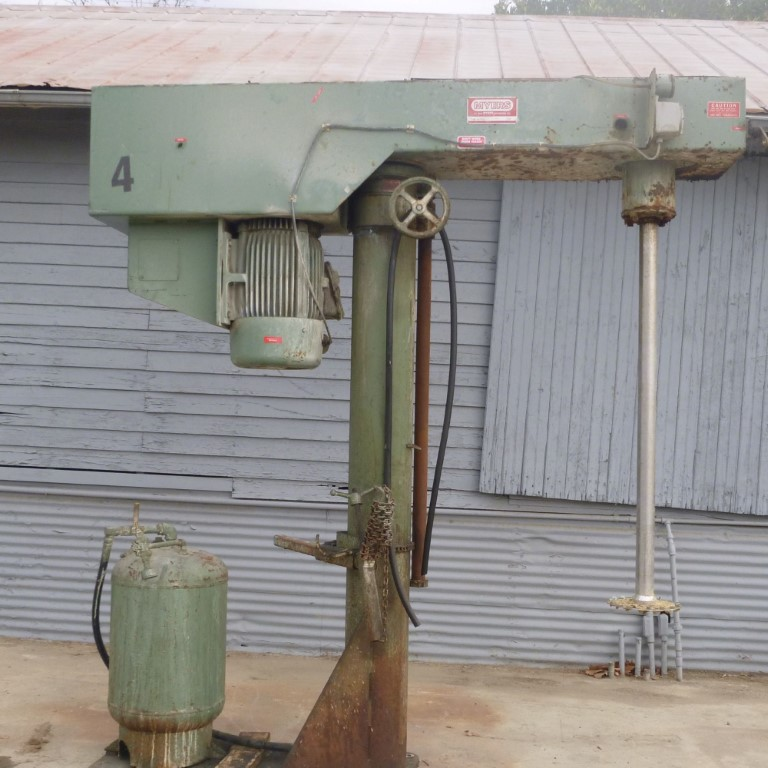 Image 50 HP MYERS 800A-50 Dispersion Mixer - Stainless Steel 1586928