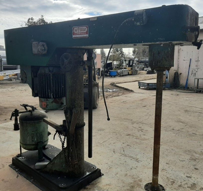 Image 30 HP MYERS 800A-30 Dispersion Mixer 1586934