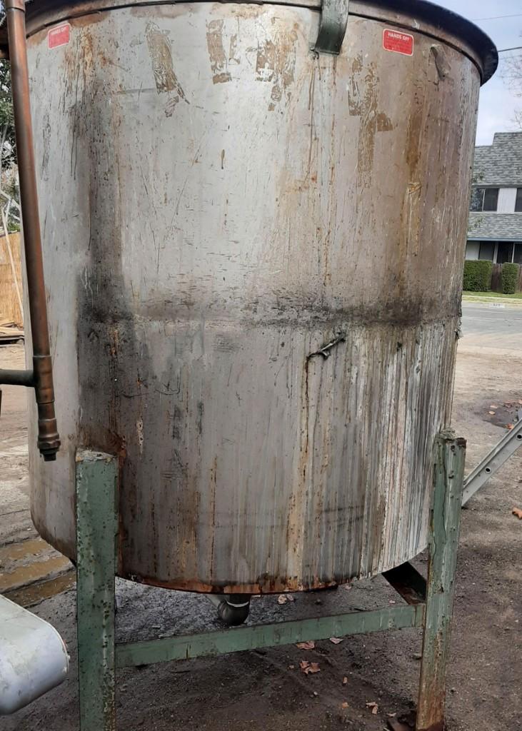 Image 750 Gallon Tank - 304 Stainless Steel 1586940