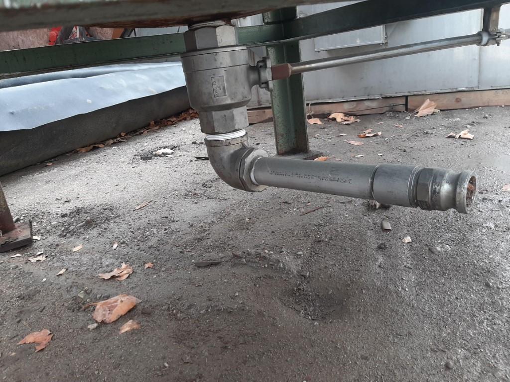 Image 750 Gallon Tank - 304 Stainless Steel 1586942