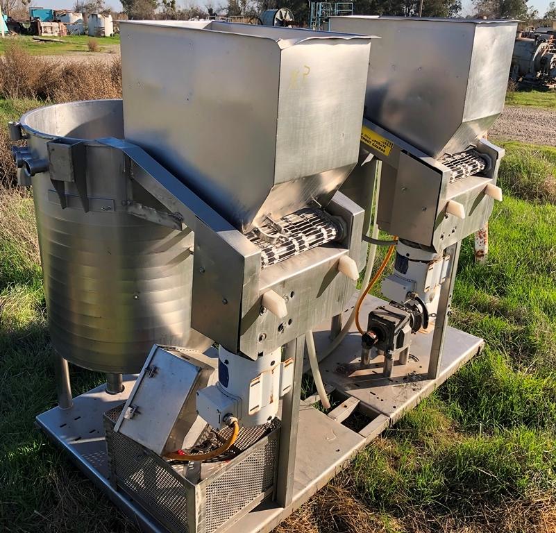 Image 50 Gallon STEIN Dual Tank Batter Applicator / Breader 1586944