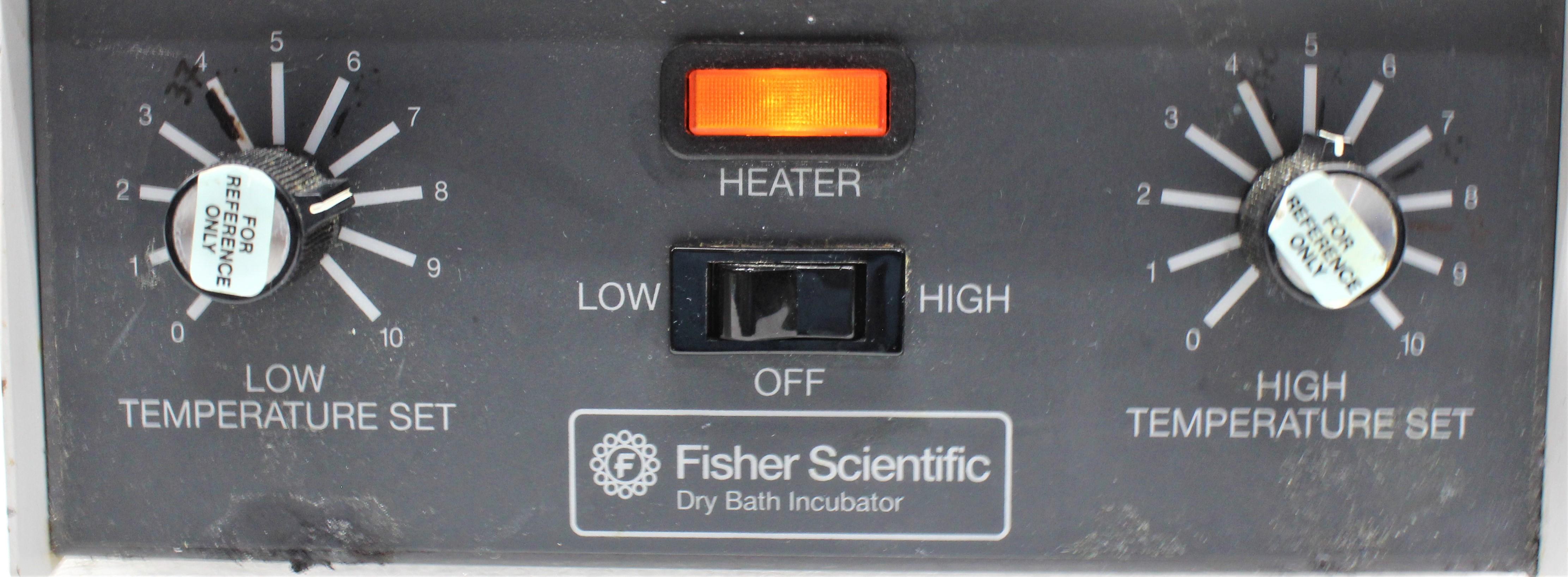 Image FISHER SCIENTIFIC 11-718-2 Dry Bath Incubator 1586971