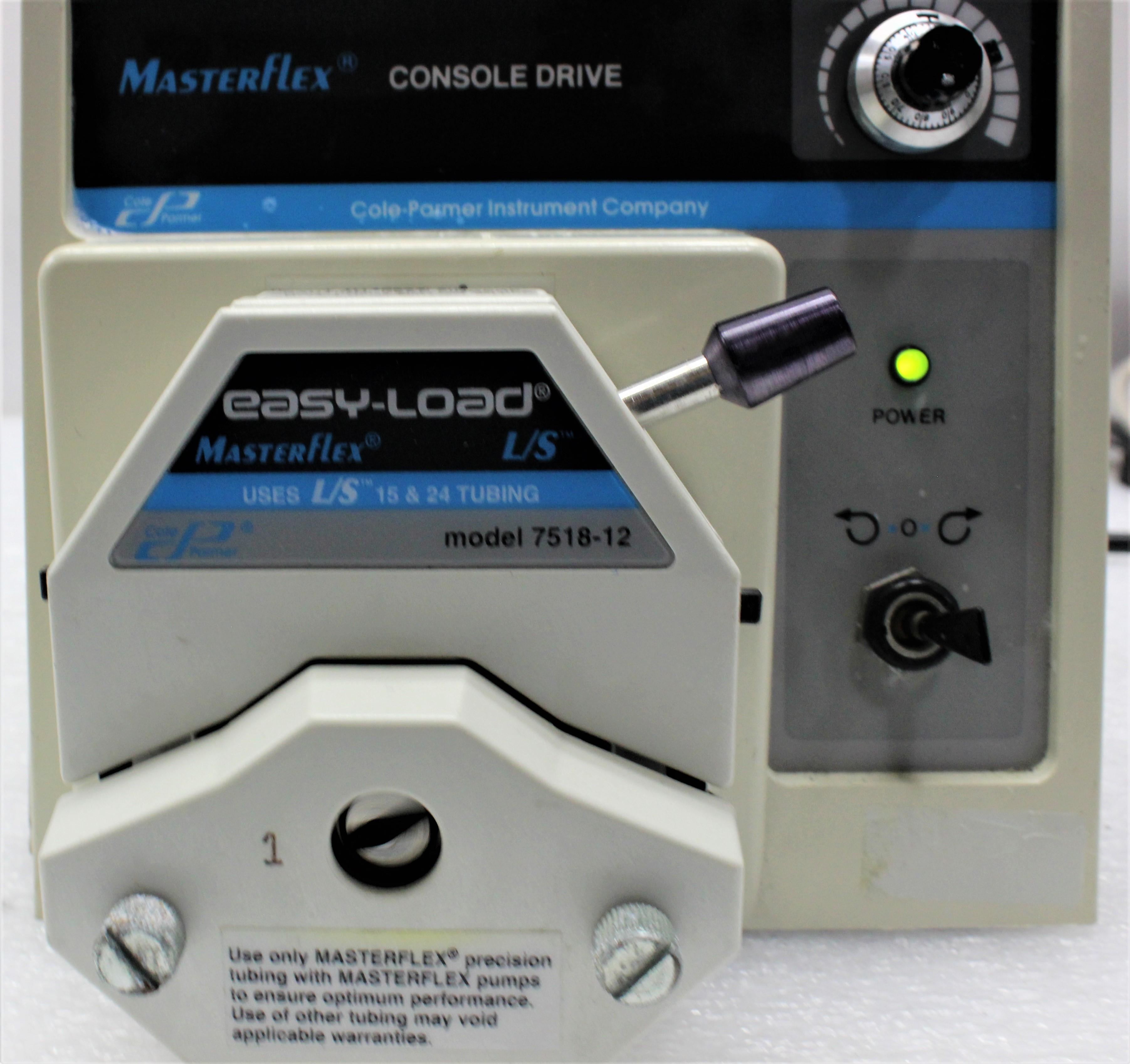 Image COLE PARMER 7521-40 Masterflex Peristaltic Pump 1586989