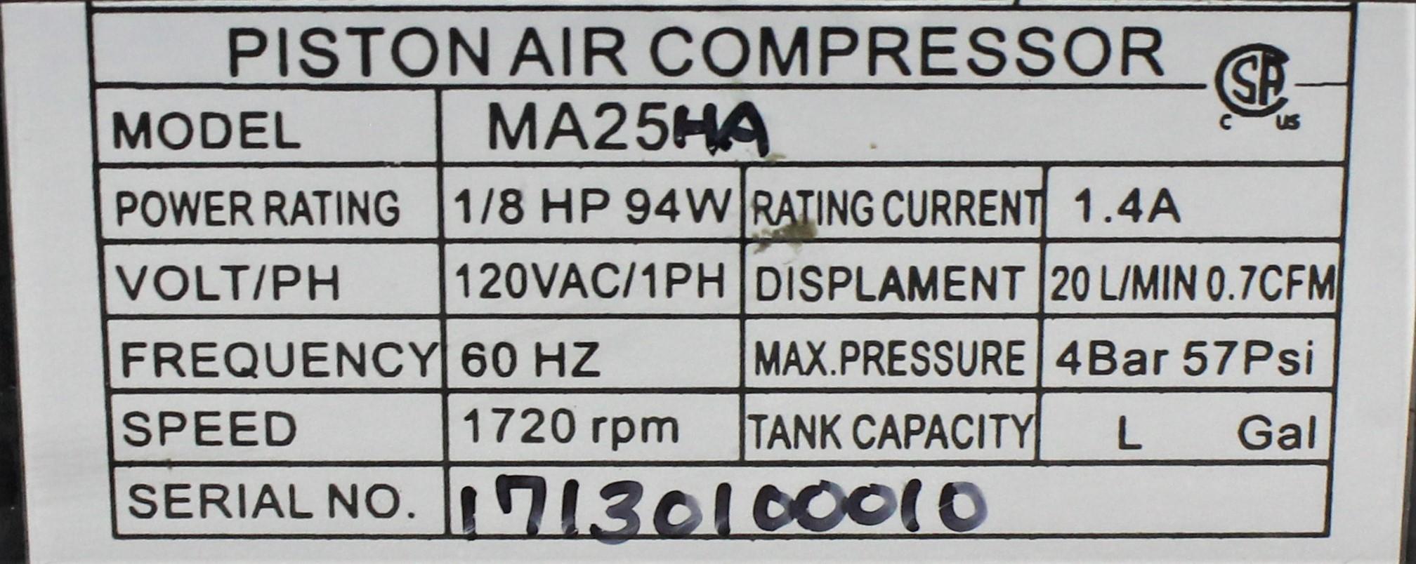 Image Piston Air Compressor 1586999