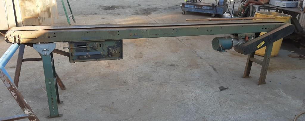 Image 6in X 132in HYTROL Belt Conveyor 1587055