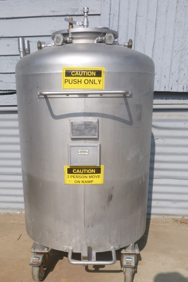 Image 92 Gallon Jacketed Tank - Stainless Steel 1587140