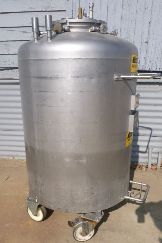 Image 92 Gallon Jacketed Tank - Stainless Steel 1587142