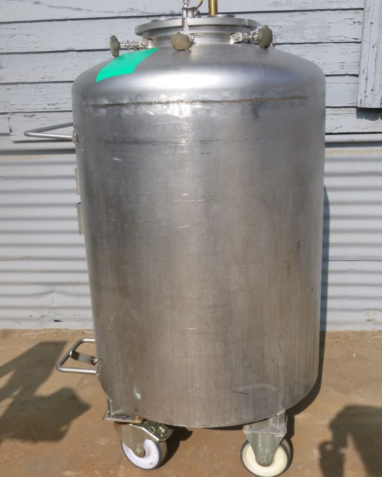 Image 92 Gallon BOWA Jacketed Tank - Stainless Steel 1587153
