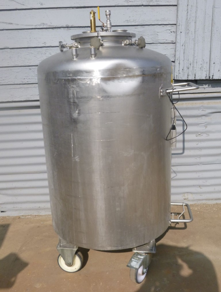 Image 92 Gallon BOWA Jacketed Tank - Stainless Steel 1587154