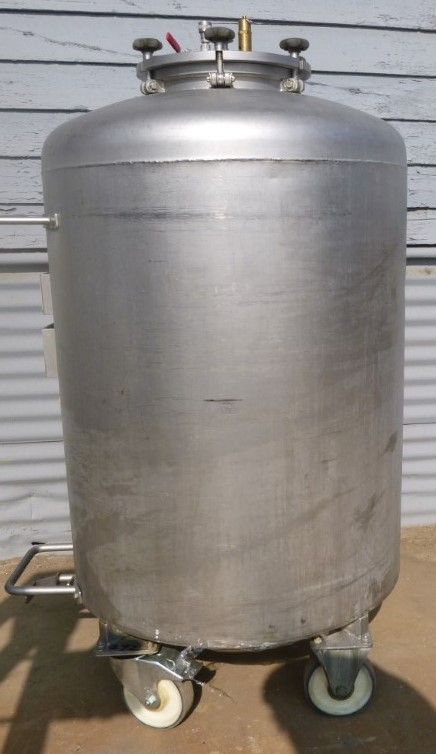 Image 92 Gallon BOWA Jacketed Tank - Stainless Steel 1587159