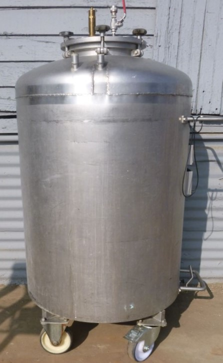 Image 92 Gallon BOWA Jacketed Tank - Stainless Steel 1587165
