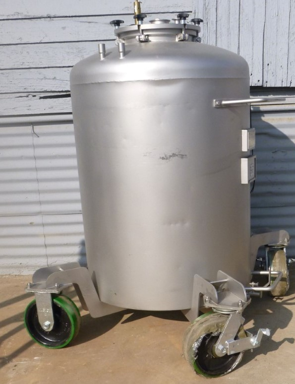 Image 92 Gallon BOWA Jacketed Tank - Stainless Steel 1587171