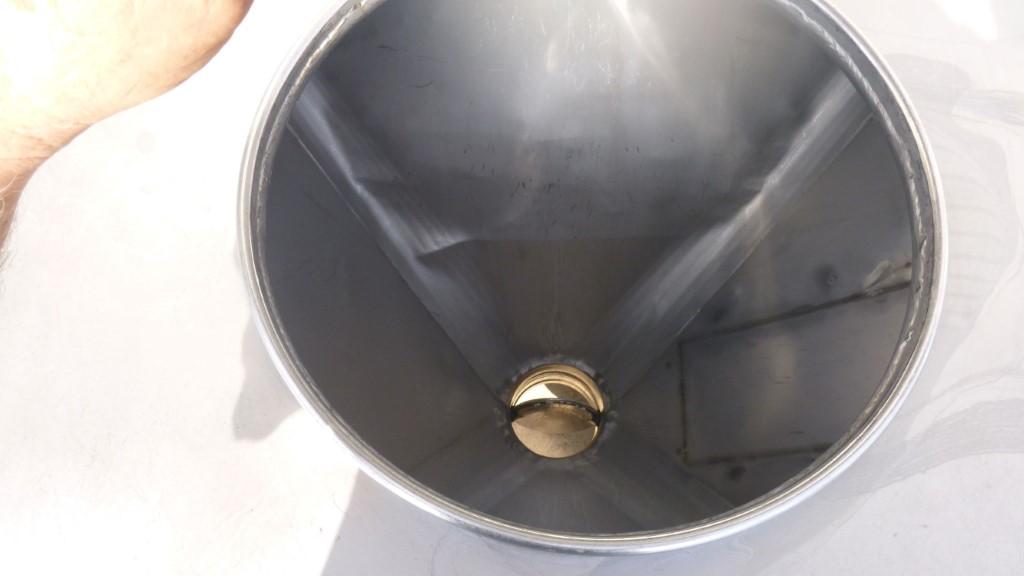 Image 25 Cu. Ft. FLO-BIN Tote Bin - Stainless Steel 1587184