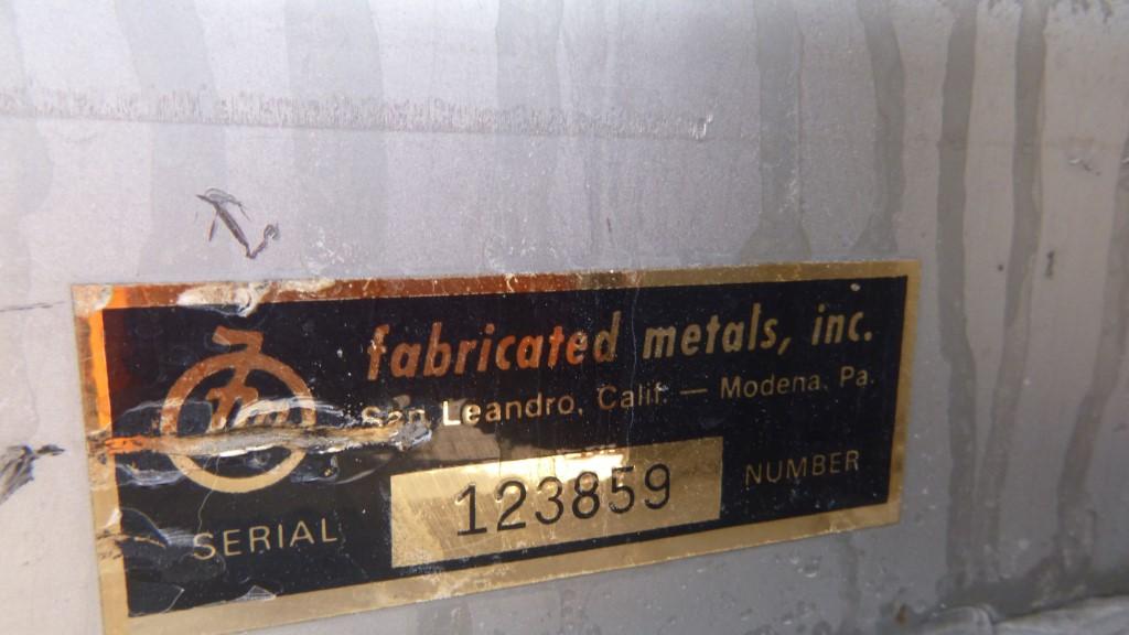 Image 25 Cu. Ft. FLO-BIN Tote Bin - Stainless Steel 1587186