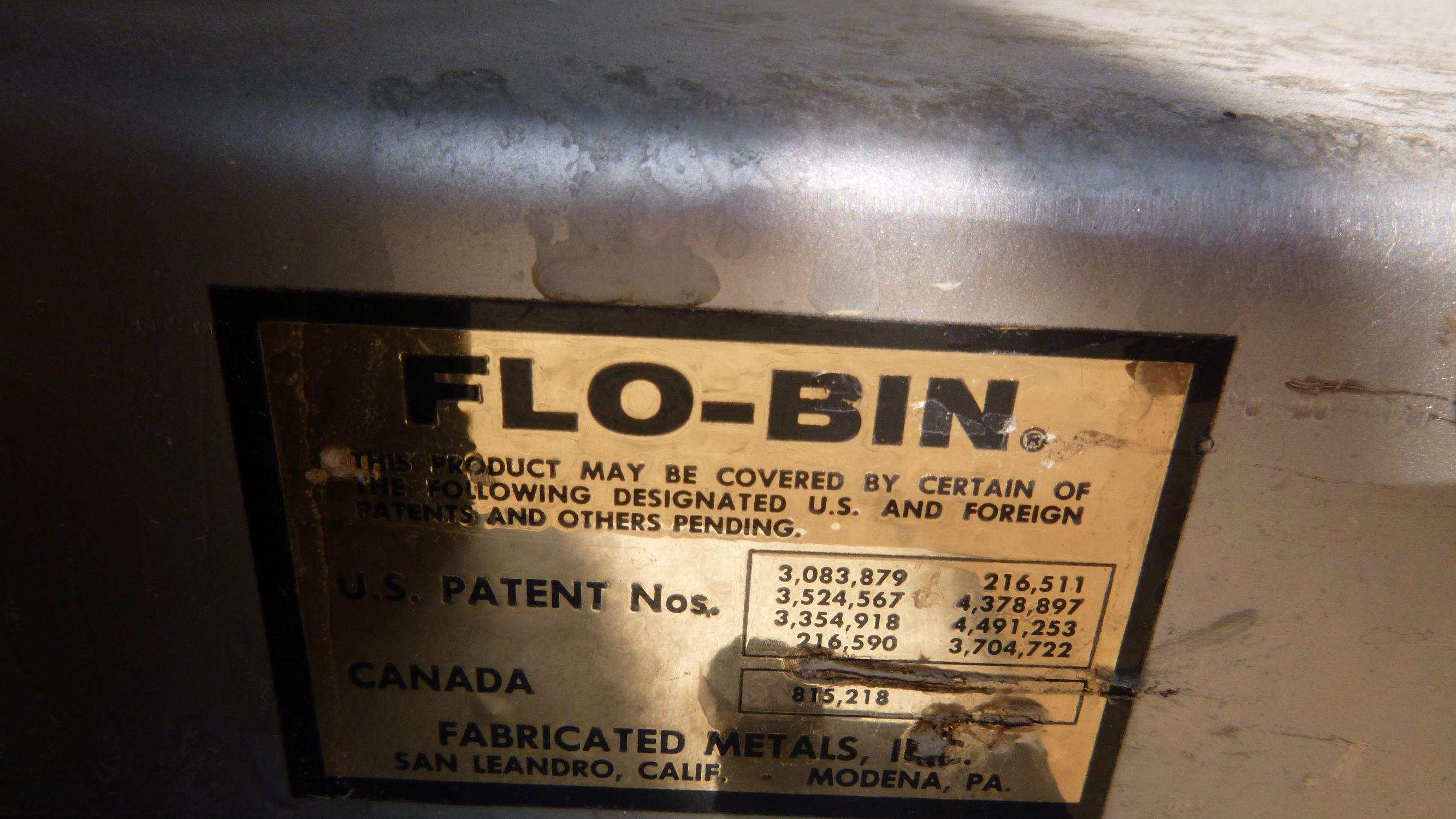 Image 25 Cu. Ft. FLO-BIN Tote Bin - Stainless Steel 1587192