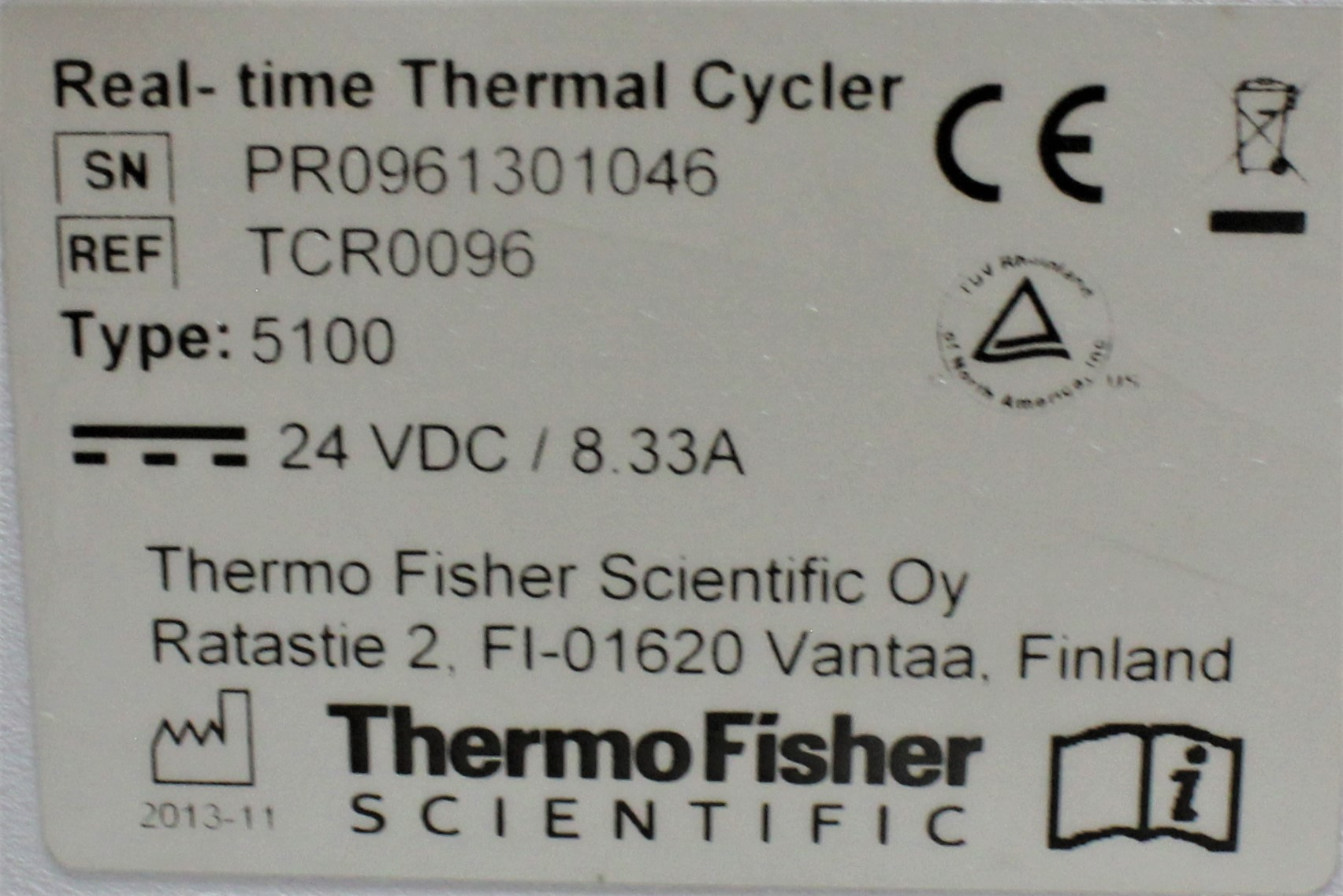 Image THERMO SCIENTIFIC PikoReal 96 Real-Time PCR System 1587221