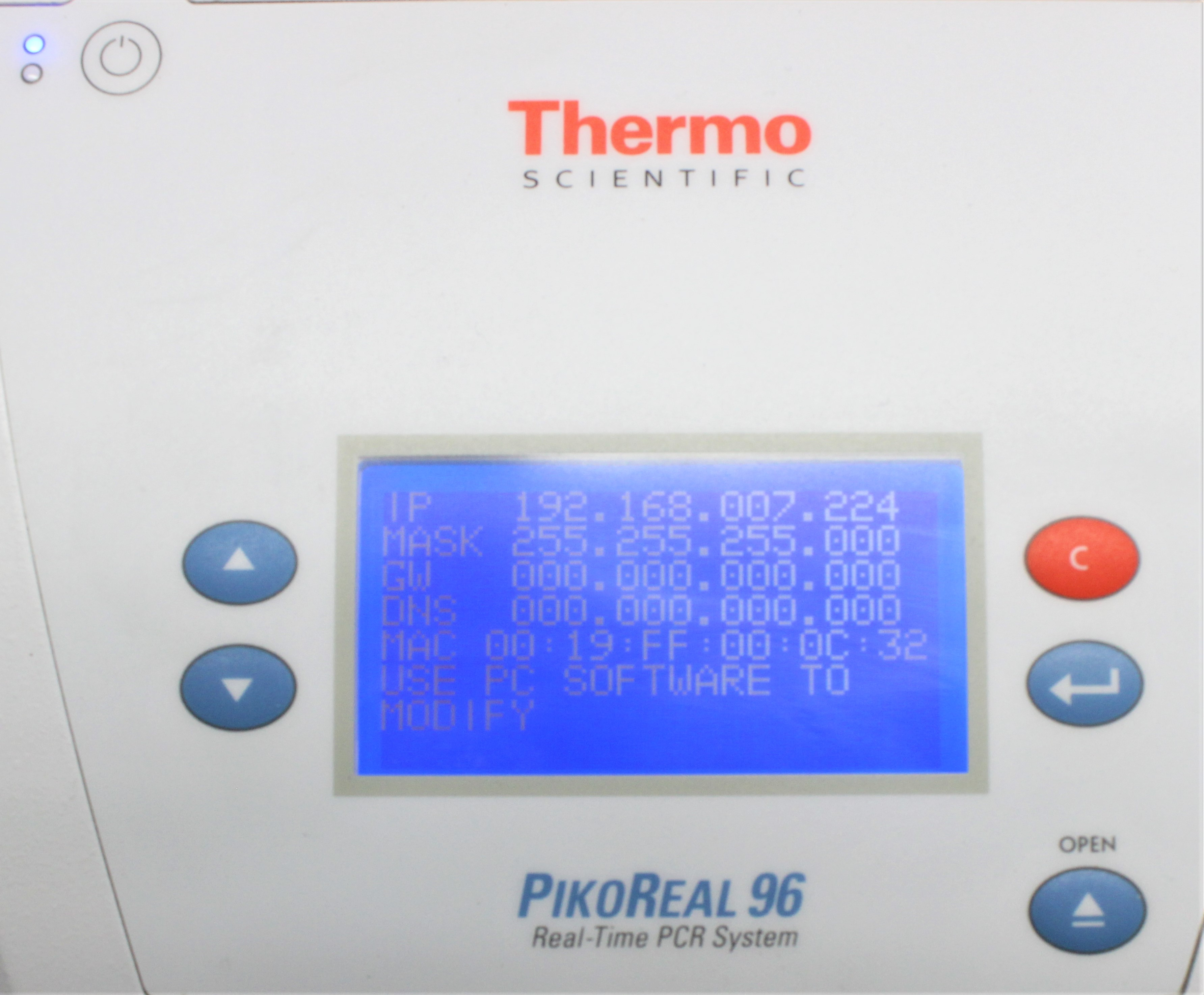 Image THERMO SCIENTIFIC PikoReal 96 Real-Time PCR System 1587225
